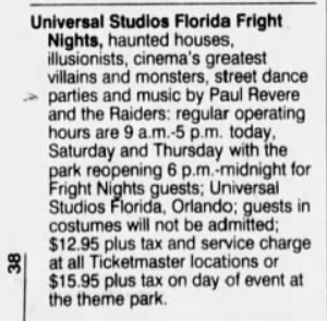 This image has an empty alt attribute; its file name is universal-studios-fright-nights-1991-advertisment-in-orlando-sentinel.png